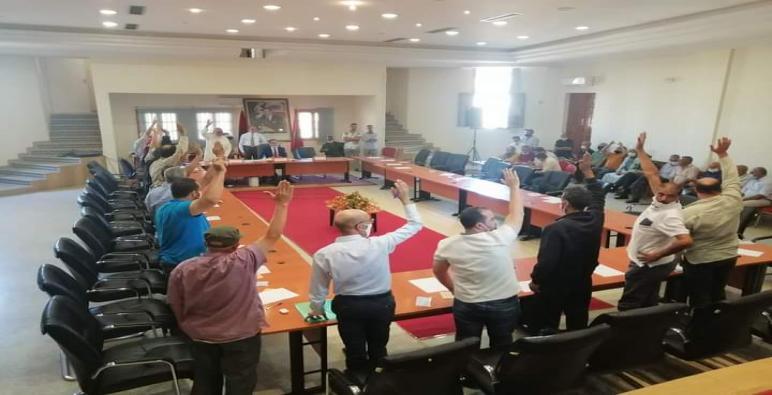 انتخاب السيد خليفة مجيدي رئيسا للمجلس الجماعي لأبي الجعد